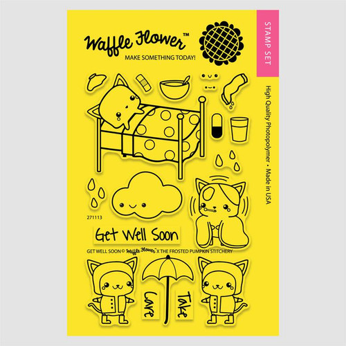Get Well Soon Stamp Set by Waffle Flower