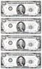 X-Files, Prop Sheet of Money, Front, David Duchovny, Gillian Anderson