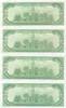 X-Files, Prop Sheet of Money, Back, David Duchovny, Gillian Anderson