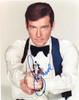 007 James Bond, Roger Moore Autographed Photograph, Type 1