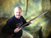 Holding Rifle for Sizing purposes