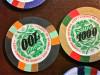 007 James Bond Licence To Kill Clay Gambling Chip