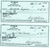 Alf Kjellin Signed Check PSA/DNA Authenticated Near Mint Condition