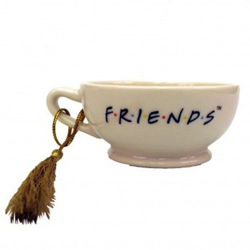 Friends Central Perk Latte Cup Ornament, Very Detailed Item