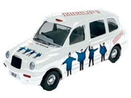 Beatles Die-Cast Help Taxi Tin, New