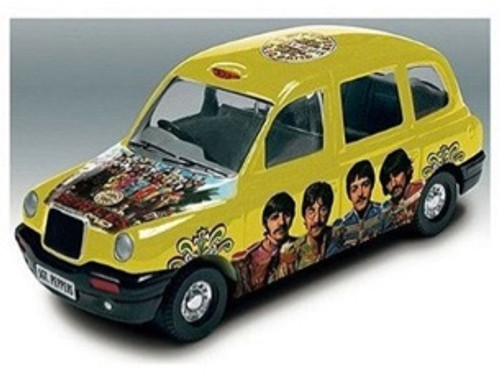 Beatles Die-Cast Sergeant Peppers Taxi Tin, New