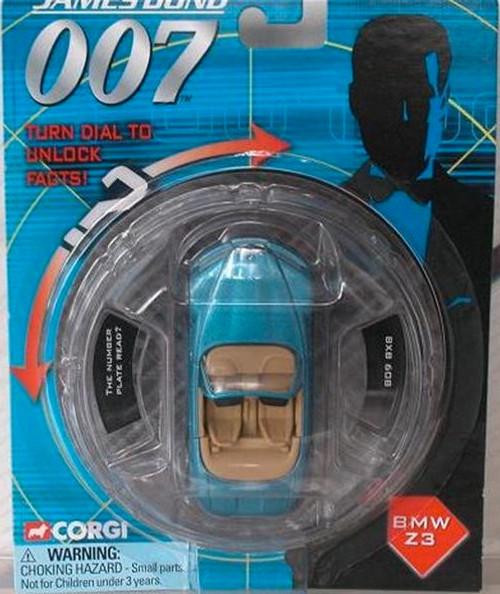 007 James Bond, Goldeneye Die-Cast BMW Z3, New fresh From Case