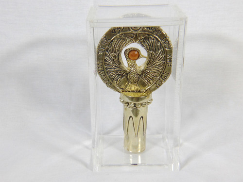 Raiders of the Lost Ark, Indiana Jones, Ra Headpiece and Stand, Acrylic Case