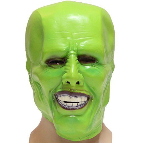 The Mask Stanley Ipkiss Jim Carrey Green Smokin Rubber mask