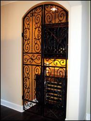 Falcon Crest Double Iron Wine Cellar Door
