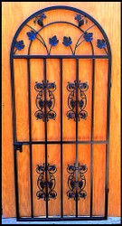 Le Chateau Grapevine Iron Wine Cellar Gate - Custom Sizes