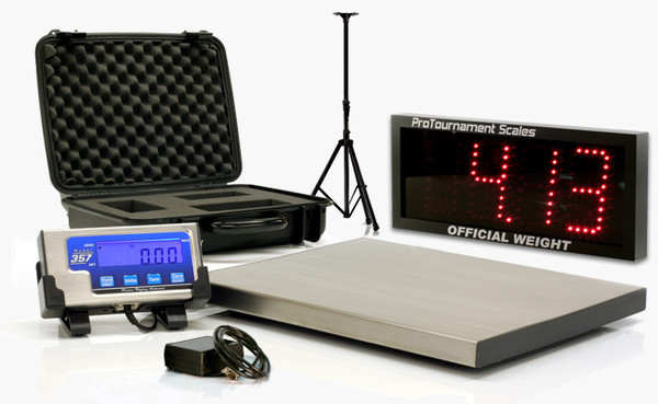 Model 357 deluxe system pro tournament scales for Fishing tournament scales
