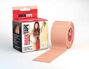 "RockTape 2"" H2O Beige  Kinesiology Tape"