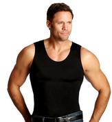 InstaSlim Men's Muscle Tank - Black