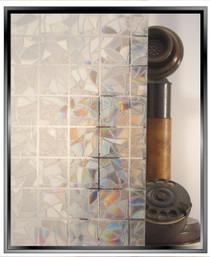 """Geometric Rainbow 1.25"""" Squares - DIY Decorative Film"""
