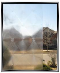Diamonds - DIY Decorative Privacy Window Film