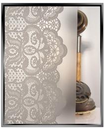 Lace Curtains - DIY Decorative Privacy Window Film