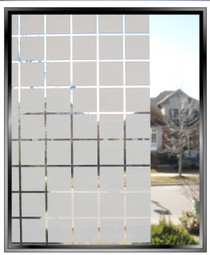 "Geometric 7/8"" White Squares - Standard Pre-Cuts"