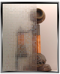 Geometric - Mosaic - Static Cling Window Film