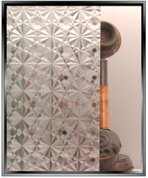 Kaleidoscope Crystal - Static Cling Window Film