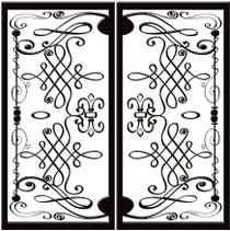 DD5 Faux Iron (set of two - enter size for one window)