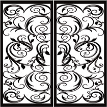 DD7 Faux Iron (set of two - enter size for one window)
