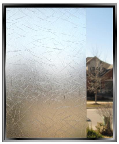 Blue Grass - DIY Decorative Privacy Window Film