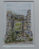 'Alston Ruin' watercolour by Mandy Jones