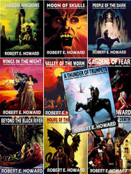 The Complete 10-Volume Weird Works of Robert E. Howard Ebook Set (epub/Kindle/pdf)