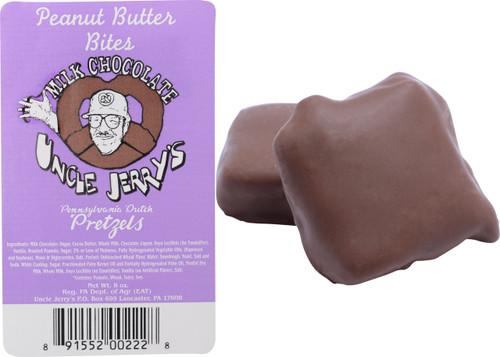 Milk Chocolate Peanut Butter Pretzel Bites