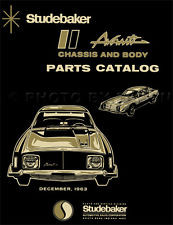 Avanti Body & Chassis Catalogue