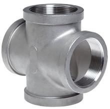 Cross, pipe, to kicker, booster & vac. gauge - Stainless Steel
