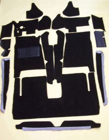 The Avanti kit contains 16 pieces, including the door panel bottom section.