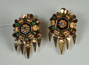 Dematoid Garnet Earrings