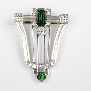 Tiffany and Co. 18kt Art Deco Clip