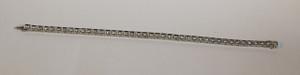 Art Deco Line Bracelet in Platinum 3.9ctw.