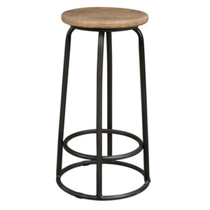 ELM TOP BAR STOOL 68CM (F063)