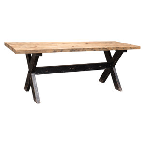 2.0M CAFE DINING TABLE (F076B)