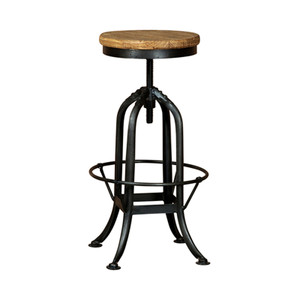 ADJUST' INDUSTRIAL BAR STOOL (F018)