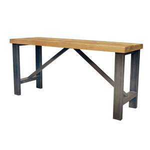 Industrial antique furniture put it all together at - Table bar industriel ...