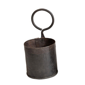 1 POT IRON PLANTER (JK034)