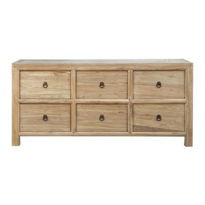 ELM SIX DRAWER SIDEBOARD (ESI6DRE)