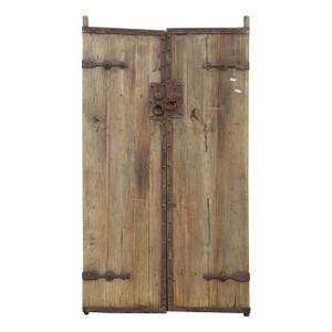 PAIR OLD CHINESE DOORS (BS069)