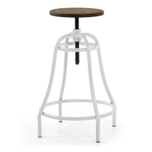 BAR STOOL WHITE (F121)