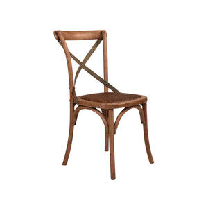 CROSS BACK CHAIR OAK, LITE STR (CBC02)