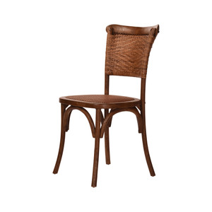 SUSSEX OAK & RATTAN CHAIR (CBC04)