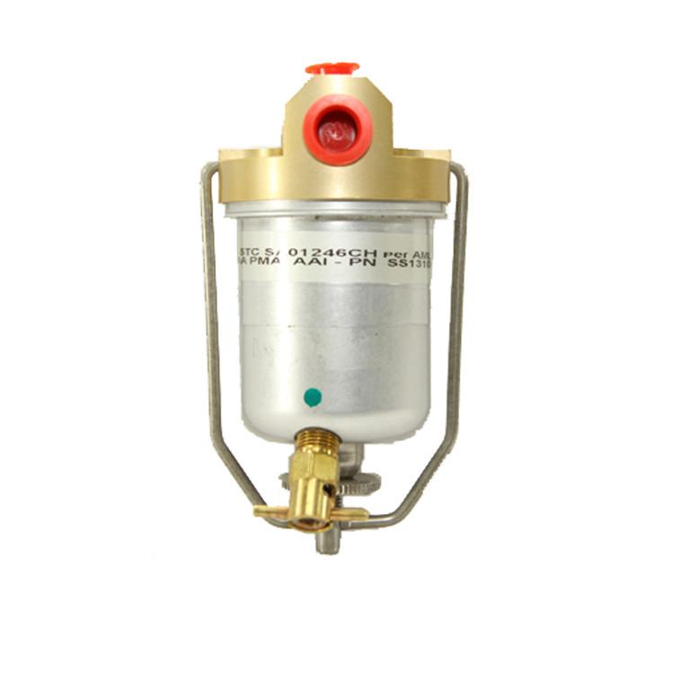 Ercoupe Metal Bowl Gascolator Conversion