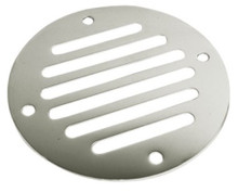 "Drain Cover - SeaDog 331600-1 - Stainless Steel - 3 1/4"" Diameter - Vent Area 2.11"" - View 1"