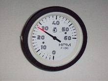 Tachometer with Light & Mounting Bracket - 58177