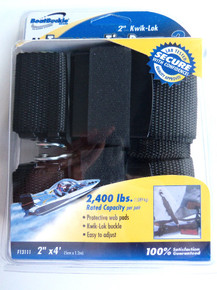 Transom Tie Down Straps - Boat Buckle F13111 - View 1